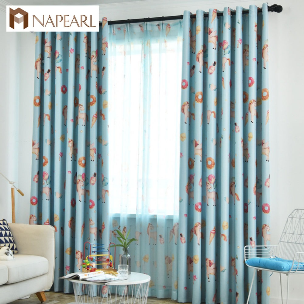 NAPEARL Window Blackout Shades Modern Bedroom Curtains All
