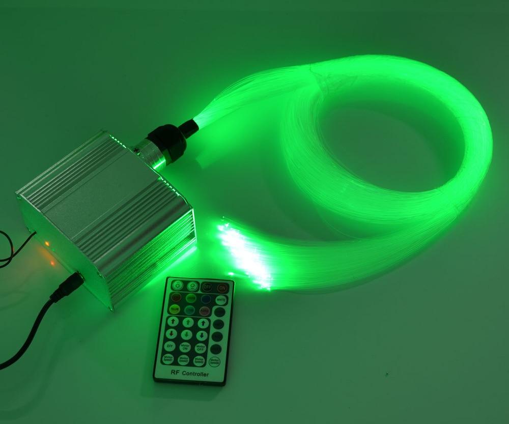 DIY RGB LED Twinkle fiber optic light 0.75mm*150pcs*4 optical fiber+ led light engine Jump/Fade etc effect Decorative lighting цена и фото