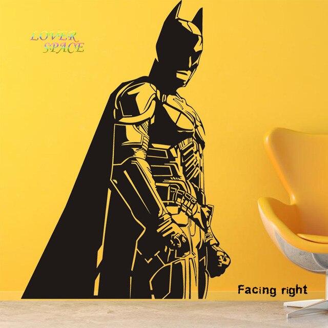 Batman Vinyl Wall Decals Dark Knight Sticker Comics Art Removable ...