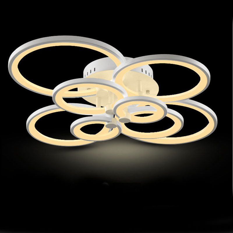 Led ceiling lamp Surface Mounted Modern Led Ceiling Lights BedRoom LED Fixture Indoor Lighting Home Decorative Lampshade led lamp creative lights fabric lampshade painting chandelier iron vintage chandeliers american style indoor lighting fixture