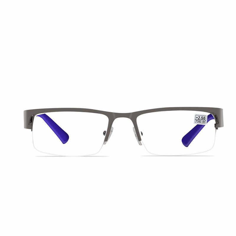 Men's Reading Glasses From The Computer For Men Eyeglasses Oculos De Grau Spectacles Anti Blue Ray Spectacle Frame +1 +1.5 2 2.5