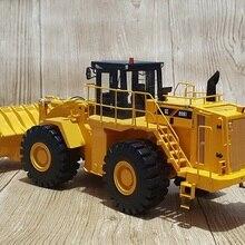 Редкая коллекционная модель из сплава 1:35 масштаб Liugong CLG 899III колесный погрузчик инженерное оборудование литье под давлением модель игрушки для украшения