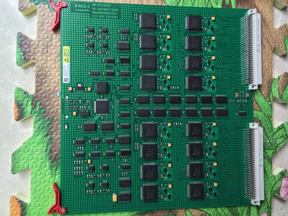 2 pieces DHL free shipping durable EAK2 00.781.4795, 00.781.8903, 91.144.6021 printing board EAK2-2 board 12 months warranty