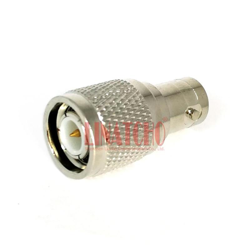 Прикључак за адаптер за пресвлаку од бакра од никла од 50охм БНЦ женски до ТНЦ мушког конвектора