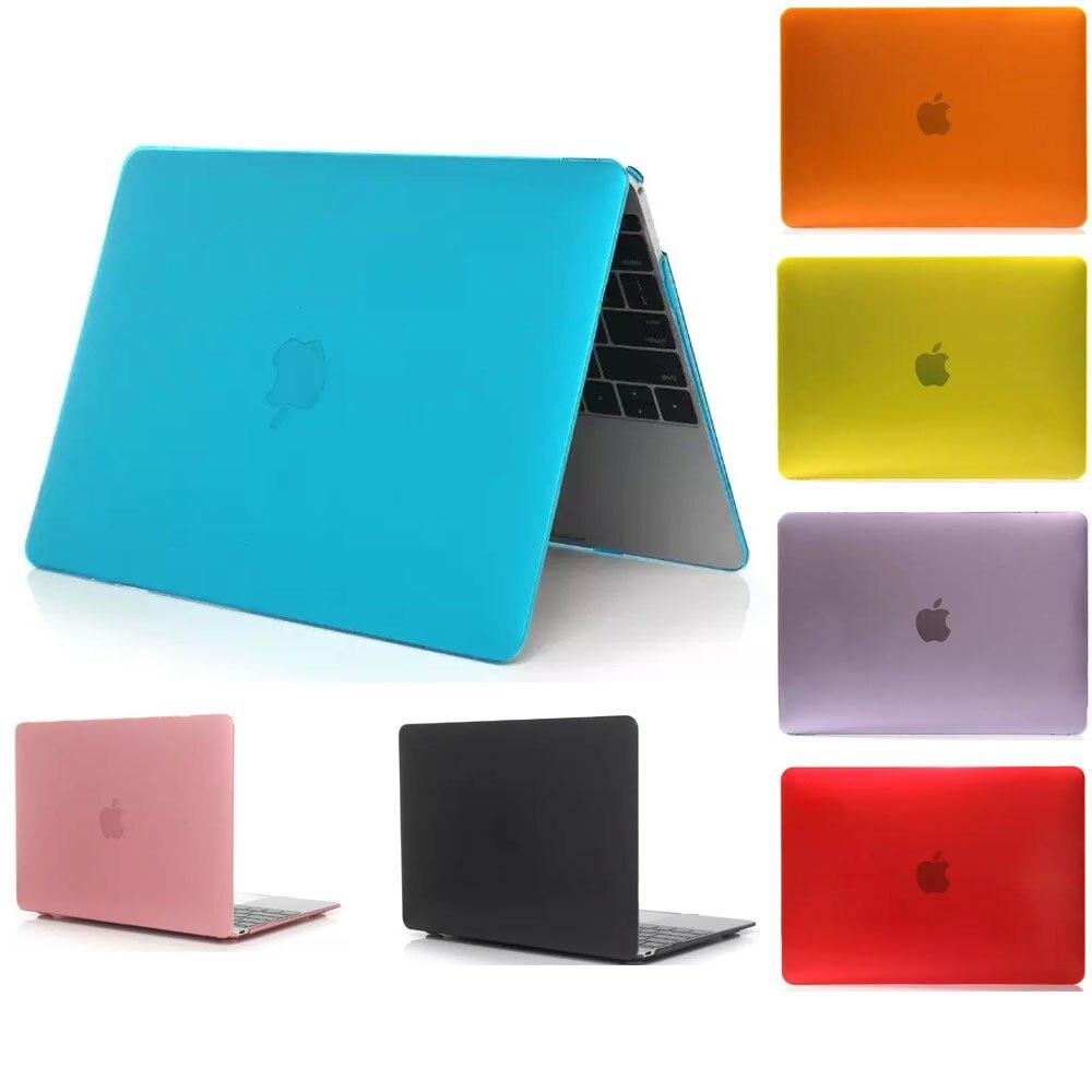Cristal transparente capa dura caso luva do portátil para apple macbook pro 13 15 pro retina 13 15 ar 11 13 13 13 saco portátil