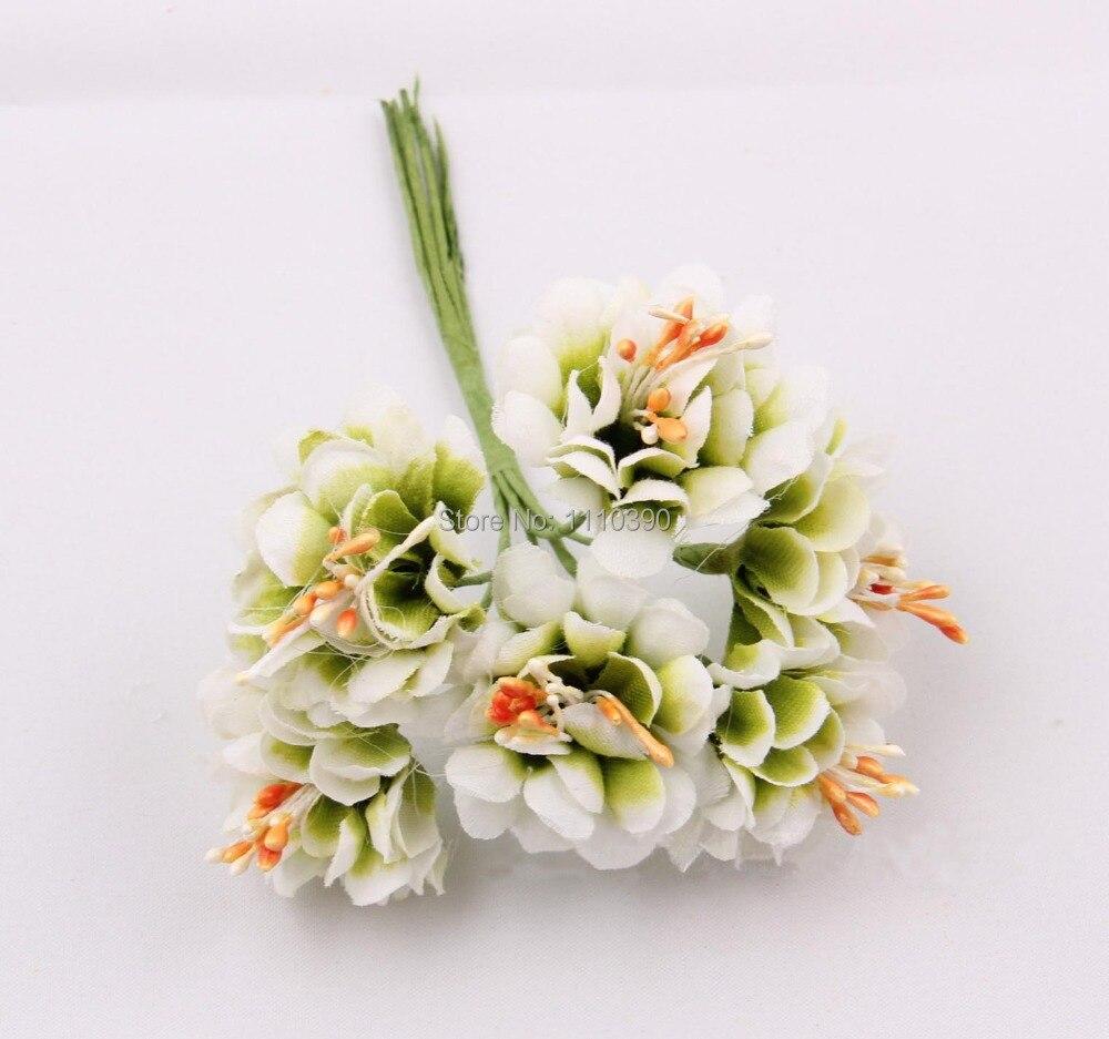 34cm Artificial Flowers Bouquetssilk Flowers Bouquet For Diy