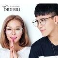 DIDI Superdimensionada Coreano Óculos Mulheres Homens óculos de Aviador Anti Azul Claro Óptica da Prescrição Quadros de óculos Anti Computador Fadiga Listrado U567