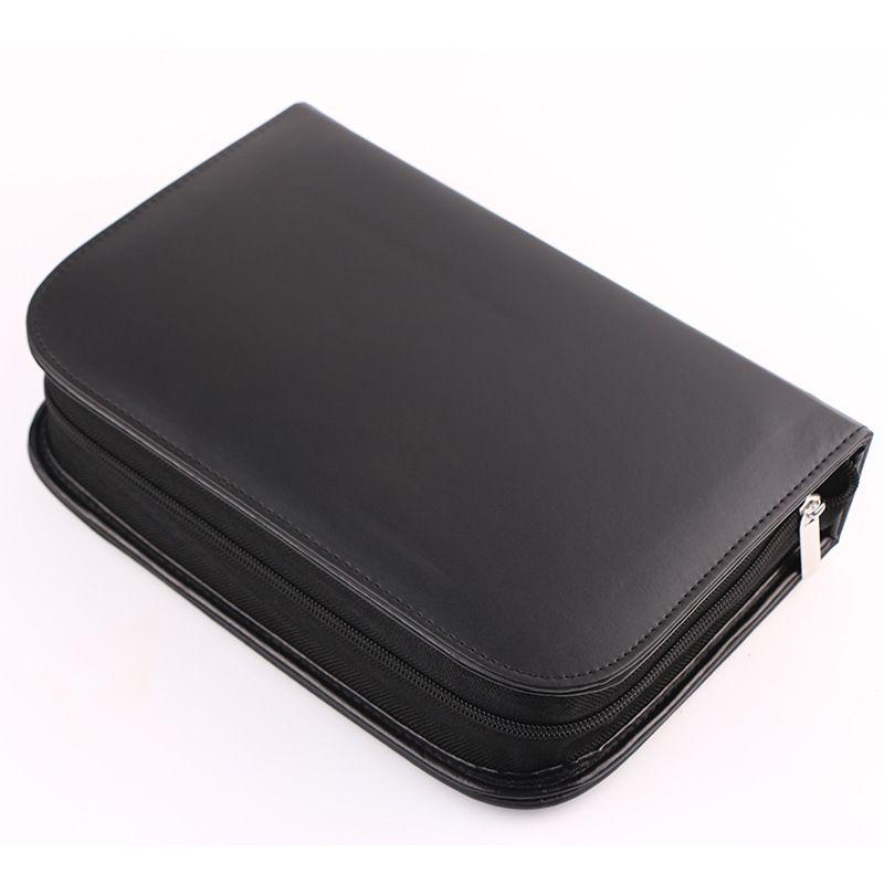 BEILI Black Professional 40 шт. набор кистей для макияжа мягкие натуральные щетинки смешивание порошка кисточка для бровей основа под макияж кисть - 6