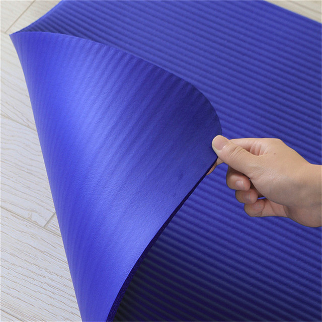 High Density Workout Exercise Sport Fitness Pilate Yoga Mat Double-sided Non-slip Gymnasium Extra Thick Lightweight Quick Drying