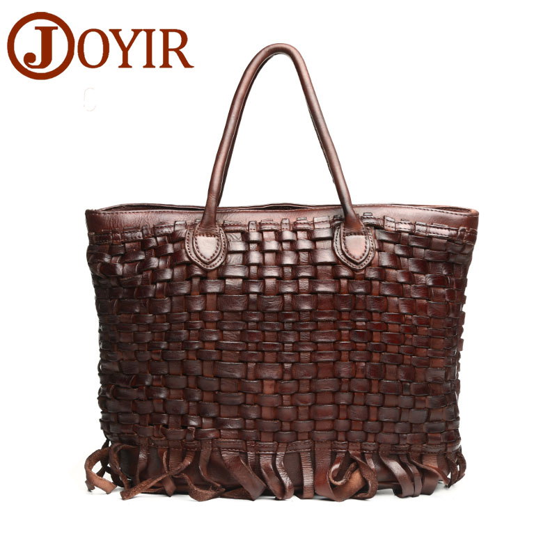 JOYIR Luxury Handbags Women Bags Designer Knitted Genuine Leather Handbags High Quality Tote Bag Shoulder Bag Bolsa Feminina6092 joyir luxury handbags shoulder bags women bags designer women genuine leather handbags high quality tote bag bolsa feminina 3352
