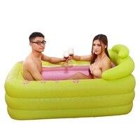 Baignoire Pliable Pedicure Spa Basen Ogrodowy Opblaasbaar Gonfiabile Banheira Inflavel Bath Sauna Hot Tub Inflatable Bathtub