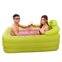Baignoire Pliable Pedicure Spa Basen Ogrodowy Opblaasbaar Gonfiabile Banheira Inflavel Bath Sauna Hot Tub Inflatable Bathtub