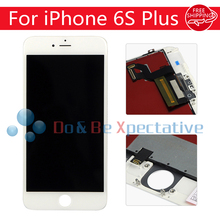 5.5″ No Dead Pixel LCD For iPhone 6S Plus LCD Display Touch Screen Digitizer Assembly Replacement Black or White Free Shipping