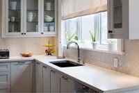 2017 traditional solid wood kitchen cabinet white armadio da cucina mutfak hot sales wooden kitchen furnitures S1606037