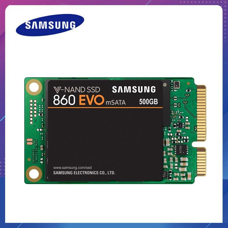 SAMSUNG SSD 860 EVO mSATA 250g 500g 1 to Disque dur interne HDD haute vitesse pour ordinateur portable ordinateur de bureau MLC Disque dur ssd