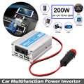 200 watt DC12V Zu AC220V Reise Auto Inverter Tragbare Fahrzeuge Konverter Stabile Werkzeuge Power Inverter Auto Überlast Schützen Adapter