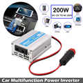 200W DC12V To AC220V Travel Car Inverter Portable Vehicles Converter Stable Tools Power Inverter Auto Overload Protect Adapter