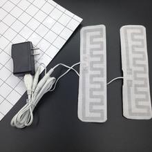 5 в USB электрические стельки с обогревом с USB зарядным устройством из углеродного волокна мягкая ткань для катания на лыжах на открытом воздухе стельки DIY теплая зимняя шестерня