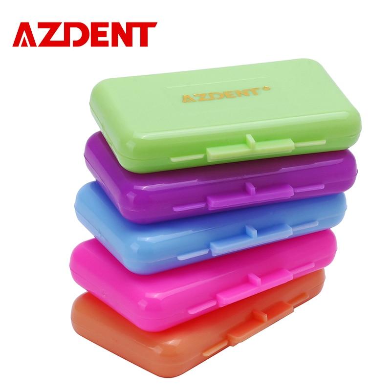 5 Box AZDENT Orthodontic Wax For Braces gum irritation Dental Oral Care Orthodontic Ortho Wax Mint Apple Orange Strawberry Grape