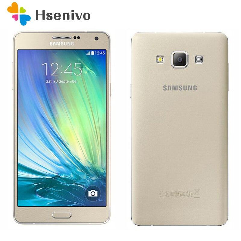 100% téléphone portable d'origine Samsung Galaxy A7 A7000 4G LTE octa-core 1080 P 5.5 ''13.0MP 2G RAM 16G ROM Smartphone double SIM