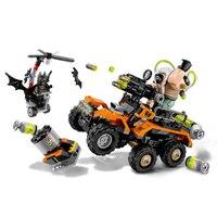 ZXZ 07914 Batman Movie Bane Toxic Truck Attack Bat Mutant Leader Building Block Toys For Children