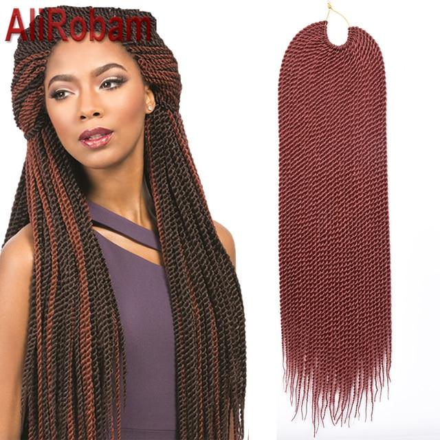 promotion crochet twist hair box braid extensions 22inch 30strands/pack havana mambo twist crochet braids hair senegalese twist