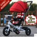 Triciclo criança frete grátis / com amortecimento / Jinming triciclo / bicicletas para crianças / bebê empurrar carro