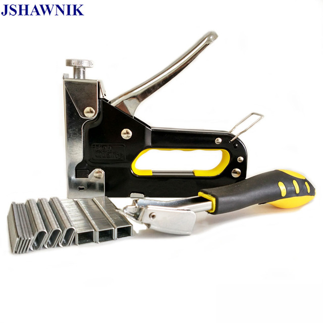 Nail Staple Gun Furniture Upholstery Interior Manual Nail Set With 900  Nails Family Reserve Stapler Furniture