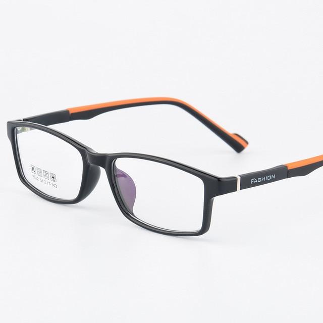 TR90 סיליקון חטיבת ביניים תלמידי קוצר ראייה משקפיים וינטג FashionOptical משקפיים מסגרת משקפי משקפיים גמיש
