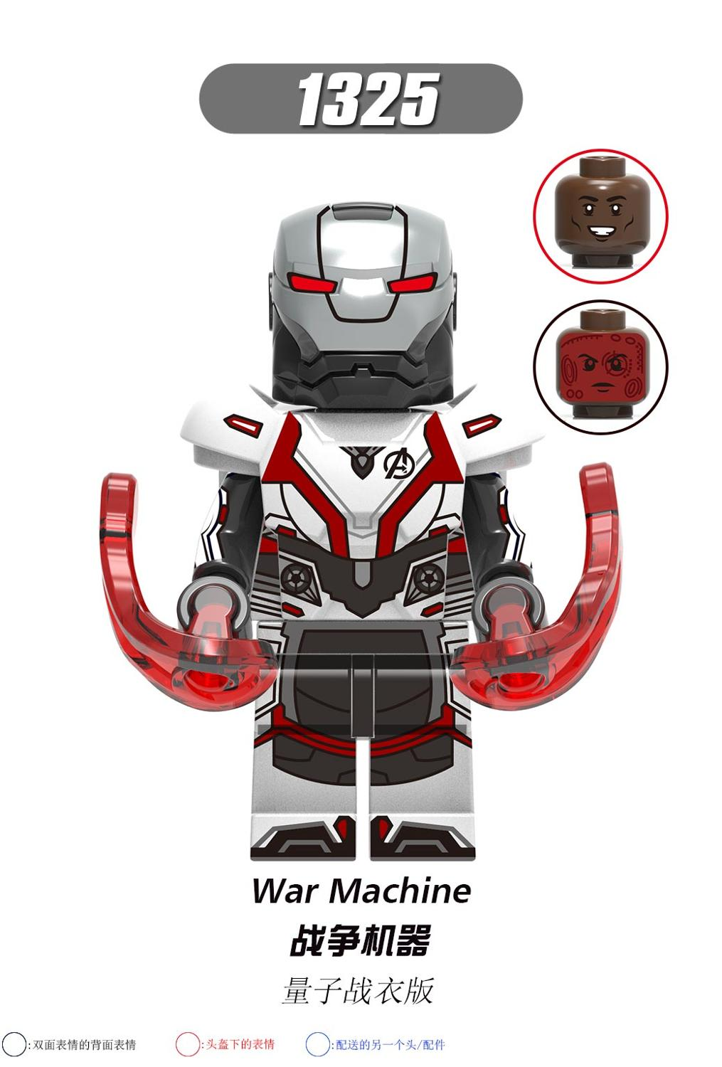 Image 5 - MARVEL  Avengers 4  Iron  Man MK85  Ant Man  Hawkeye War Machine Building Blocks Toys for Children X0265-in Interconnecting Blocks from Toys & Hobbies
