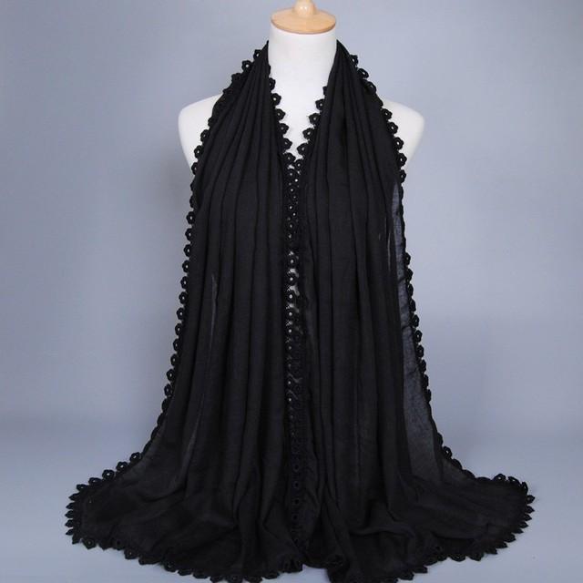 Jersey Muslim PURE Hijab Fashion Islamic Scarf Shawl Wrap,