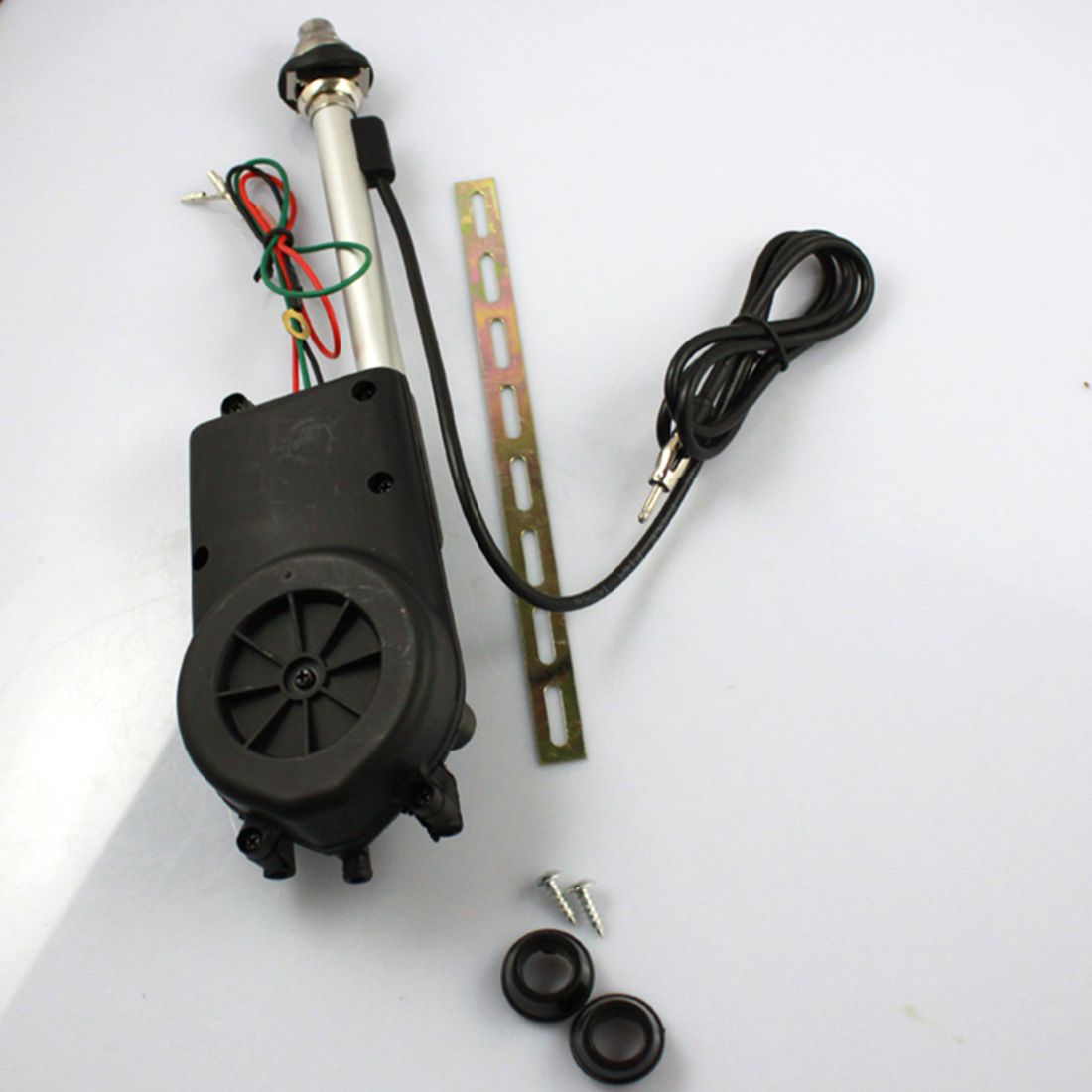 marsnaska universal car antenna electric power antenna replacement kit vehicle am fm radio mast aerial car accessories [ 1100 x 1100 Pixel ]