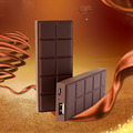 Супер Тонкий Стиль Шоколад Power Bank 3000 мАч Портативный Внешний Зарядное Устройство Powerbank Обновления Для SAMSUNG IPHONE LG HTC