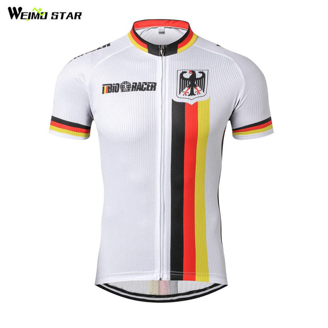 2e9dd4ddf 2018 German Summer Cycling Jersey mtb top Bike Jersey Men Pro team Shirt Bicycle  Clothing Maillot Ropa Ciclismo riding Clothes