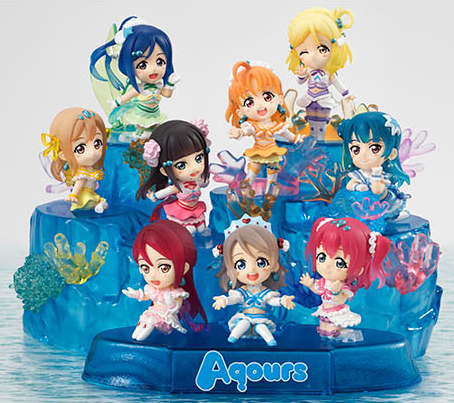1set Japanese original anime figure lovelive Q version stage ver action figure collectible model toys for boys 17cm japanese original anime figure shokugeki no soma megumi tadokoro action figure collectible model toys for boys