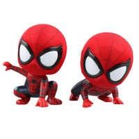 Anime Cartoon Marvel Spider-Man spiderman PVC Figure Sammeln Spielzeug 7-9 cm KT4149