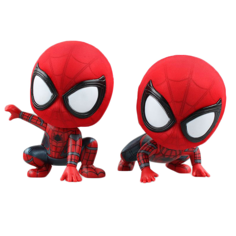 anime-cartoon-font-b-marvel-b-font-spider-man-spiderman-pvc-figure-collectible-toy-7-9cm-kt4149