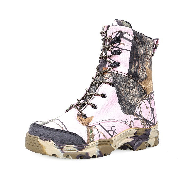 Outdoor Camo Hiking Shoes Men Military Tactical Boot Big Size Wear Resistant Breathable Mountain Non-slip Hunting Trekking Boots naturalhome men water resistant boots sports hiking shoes outdoor athletic shoes mountain boots for hunting travel shoes boot