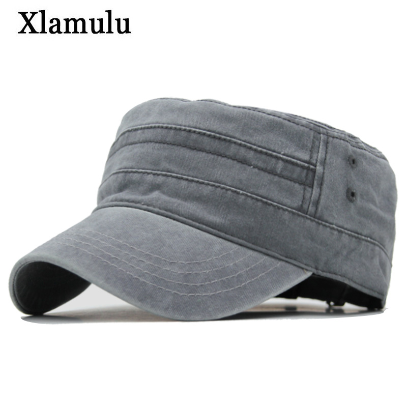 Xlamulu New Fashion Brand Men Baseball Cap Women Snapback Caps Vintage Flat Hats For Men Casquette Bone Sport Army Dad Male Hat