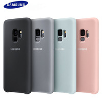 Samsung Galaxy S9 S 9 Plus Original Silicone Cover 360 Soft Case Luxury Cute Shockproof Protective