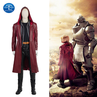 MANLUYUNXIAO New Men S Fullmetal Alchemist Cosplay Costumne Edward Elric Costume Cosplay Game Japanese High Quality