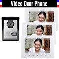 7 inch color lcd video door phone intercom doorbell doorphones intercom 3 monitor video intercom 1 Door Camera camera 1V3