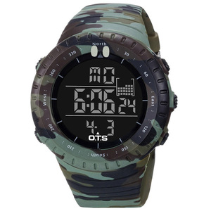 Image 4 - OTS 2019 Led Waterproof Sport Watch Fashion Casual Diving Sports Wristwatch Military Electronic Digital Army Men Watches