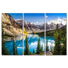 3 Pieces Picture Painting Wall Art Room Decor Print Poster Beautiful landscape Wall Pictures for sitting Room Canvas Painting цена