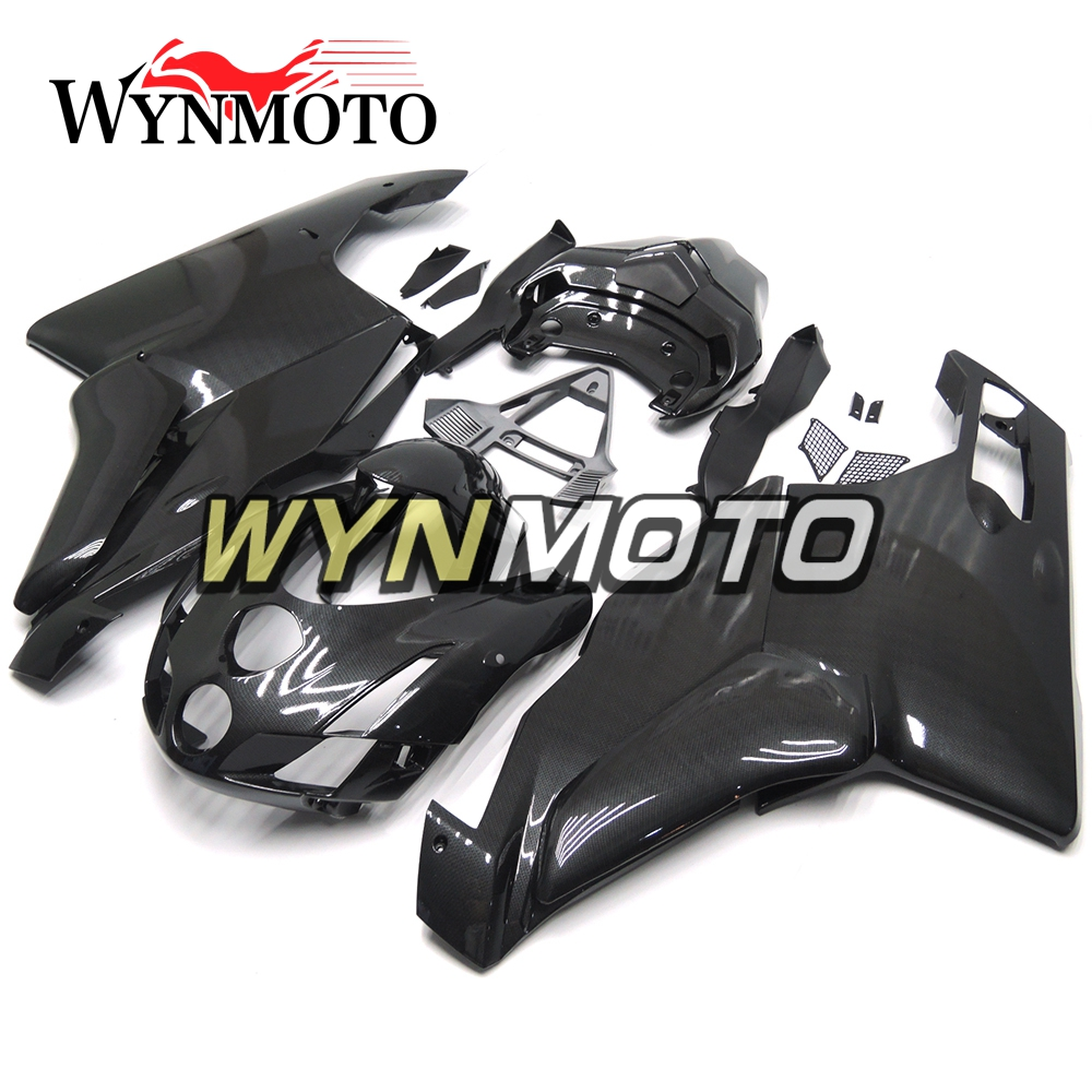 Complete Motorcycle Black Carbon Fiber New For Ducati 999 749 2005 Wiring Harness Monoposto 03 04 2003 2004 Abs Plastic Fairings Kit Cowlings In Covers Ornamental Mouldings