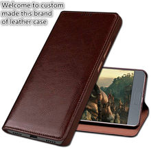ND13 genuine leather flip cover for Vernee apollo Helio X25(5.5') phone case for Vernee apollo phone cover free shipping(China)