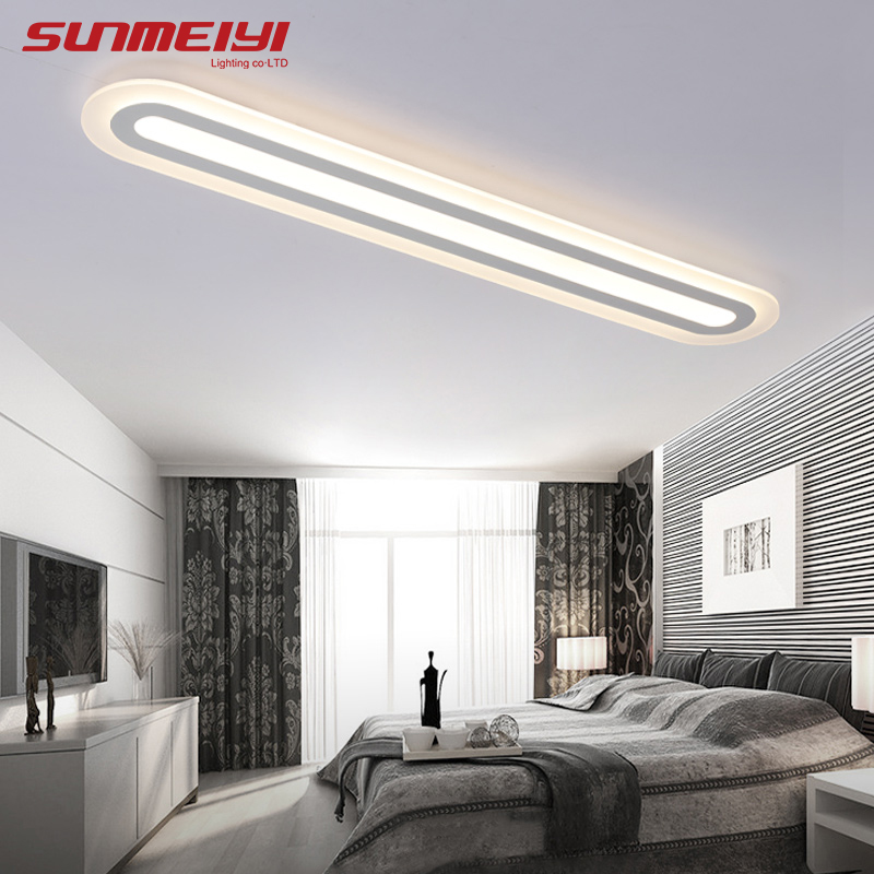 Modern Led Ceiling Lights AC 90V 260V lamparas de techo led Light Fixture For Living room