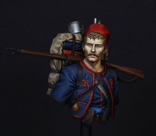 pre order-Resin toys LM-B019 French Zouave Regiment in 1914 Free shipping недорого