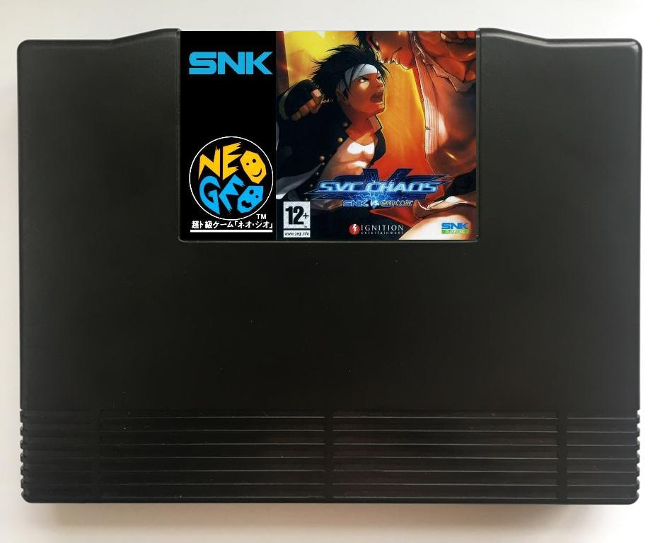 NEOGEO AES SVC Chaos PS2(Hacked) Game Cartridge for SNK NEO GEO AES ConsoleNEOGEO AES SVC Chaos PS2(Hacked) Game Cartridge for SNK NEO GEO AES Console
