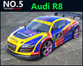 Grande 1:10 RC carro de alta velocidade Car Racing 2.4 G R8 4 roda controle de rádio de carro esporte deriva modelo de carro de corrida brinquedo eletrônico